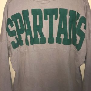 Other - Puff printed vintage spartans Michigan state